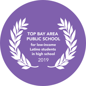 Top Bay Area Public School for low-income latino students in high school 2019